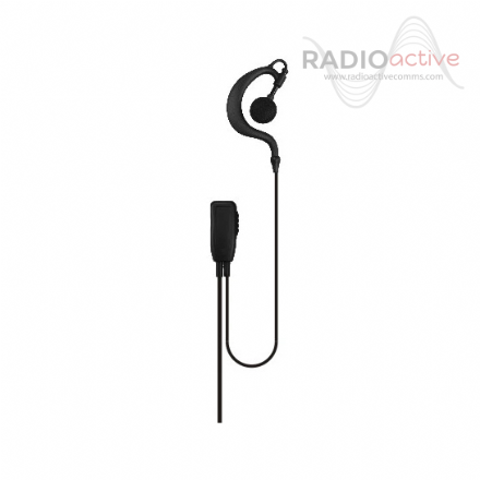 Kenwood G Shaped Earpiece with Inline Microphone